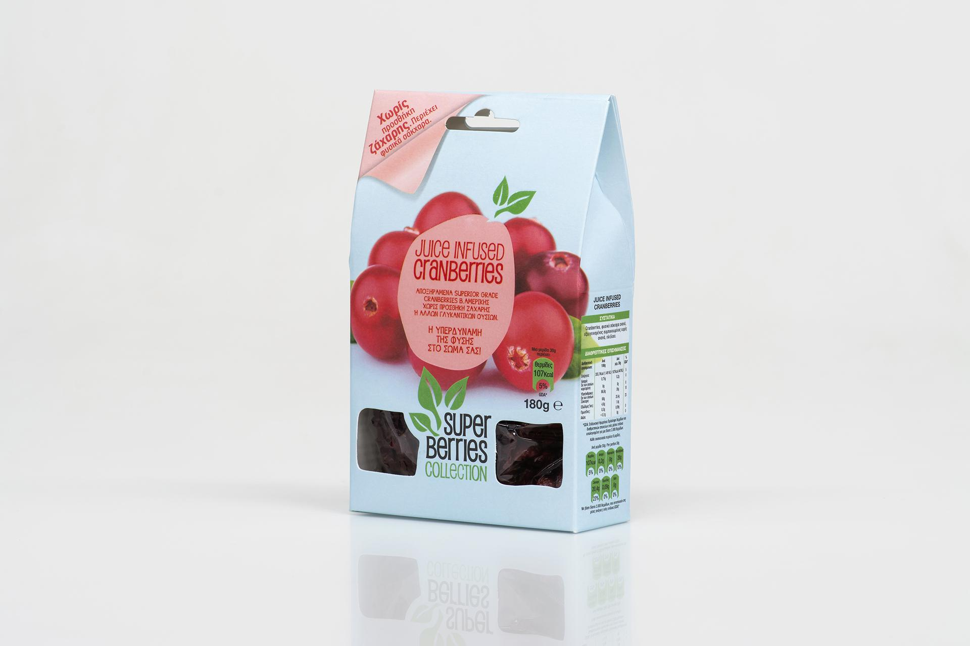 Cranberries packaging