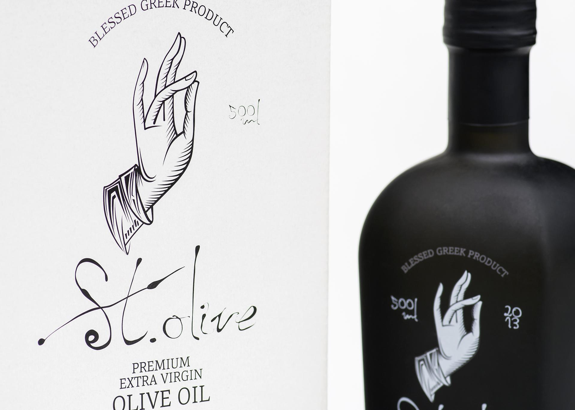 St. Olive box packaging