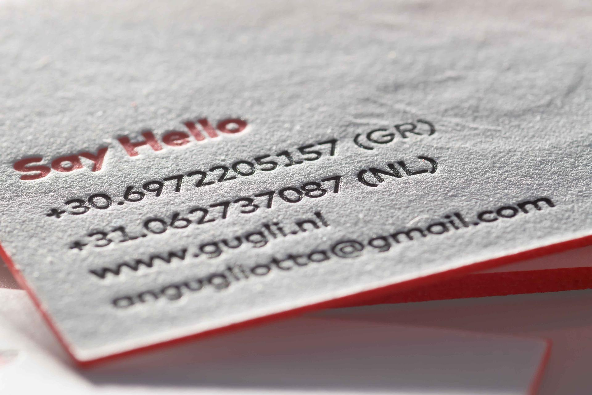 Andreas Gugliotta business card