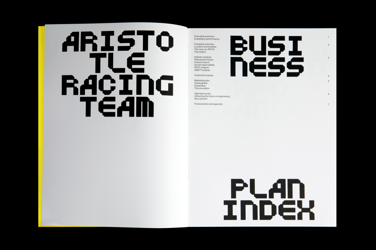 ART Business Plan booklet
