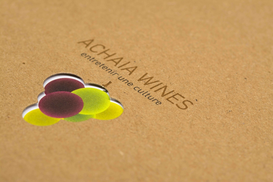 Achaia Wines book cover