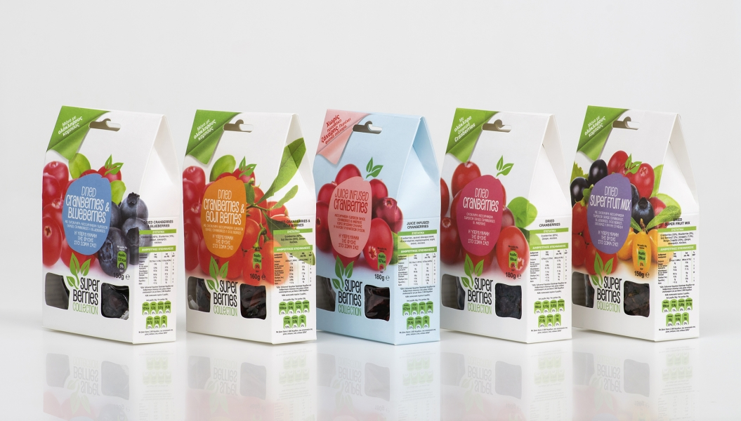 Super Berries packaging