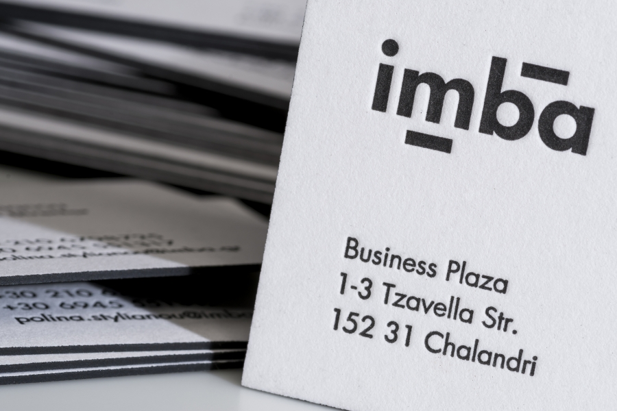 Imba business cards