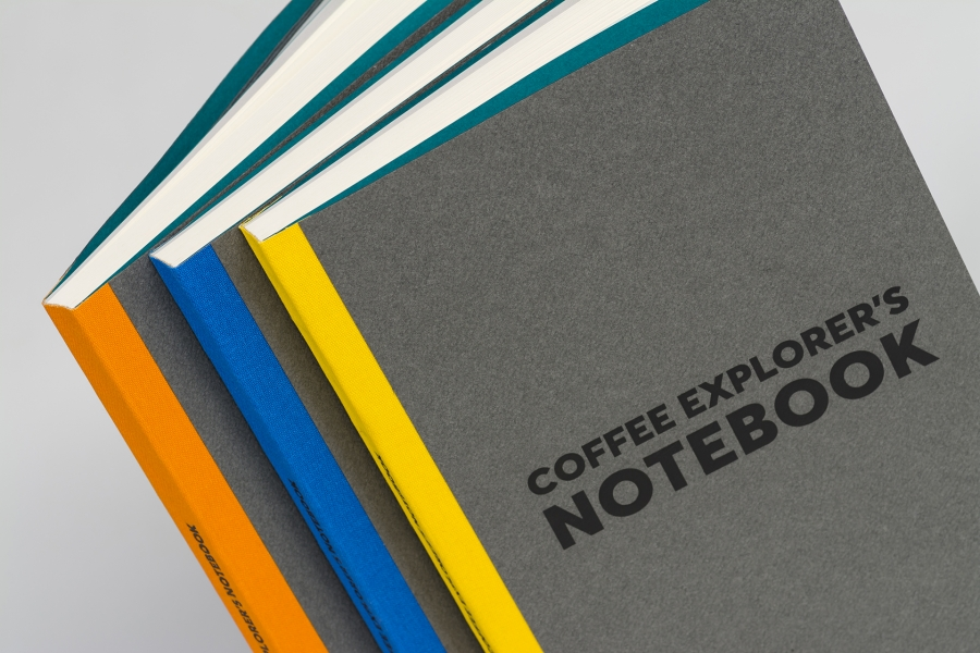 Coffee Island notebooks