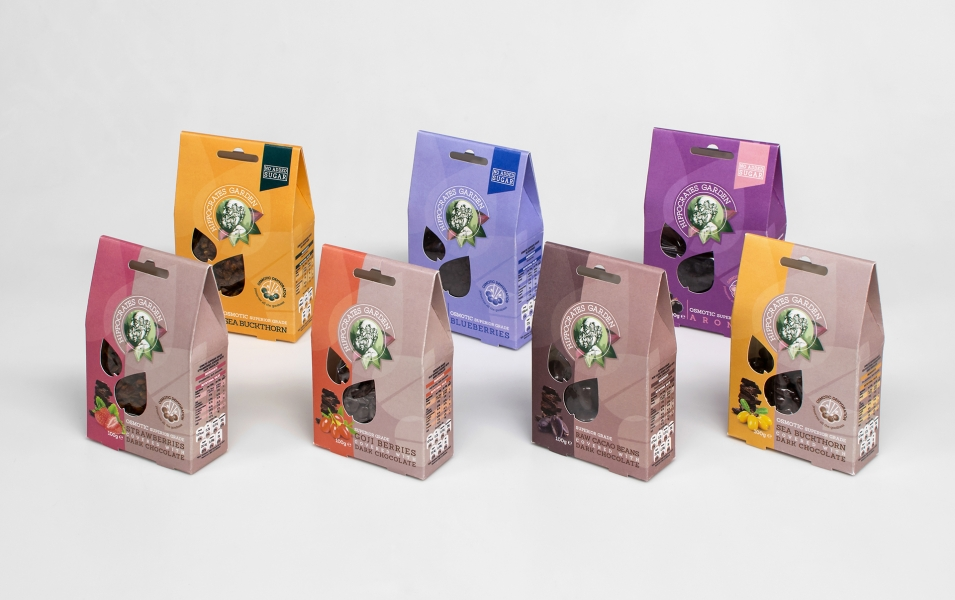 Hippocrates Garden packaging